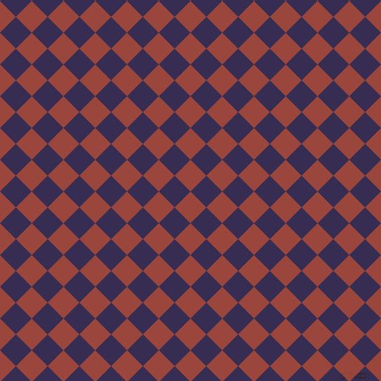 45/135 degree angle diagonal checkered chequered squares checker pattern checkers background, 32 pixel squares size, , Cognac and Cherry Pie checkers chequered checkered squares seamless tileable