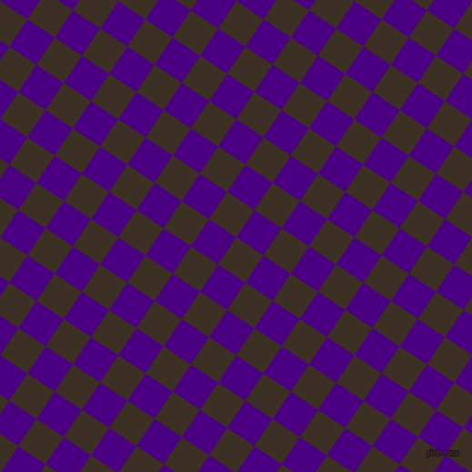 56/146 degree angle diagonal checkered chequered squares checker pattern checkers background, 36 pixel squares size, , Cola and Indigo checkers chequered checkered squares seamless tileable