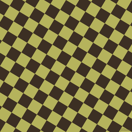 59/149 degree angle diagonal checkered chequered squares checker pattern checkers background, 39 pixel squares size, , Cola and Olive Green checkers chequered checkered squares seamless tileable