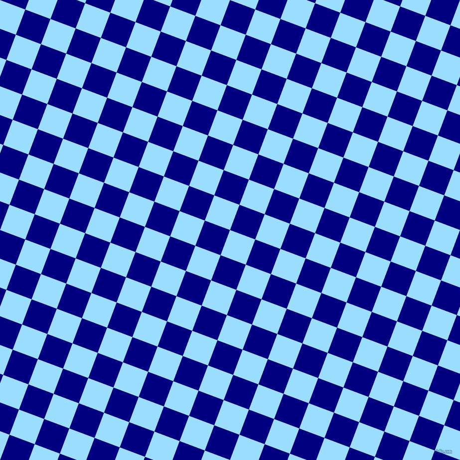 69/159 degree angle diagonal checkered chequered squares checker pattern checkers background, 54 pixel squares size, , Columbia Blue and Navy checkers chequered checkered squares seamless tileable