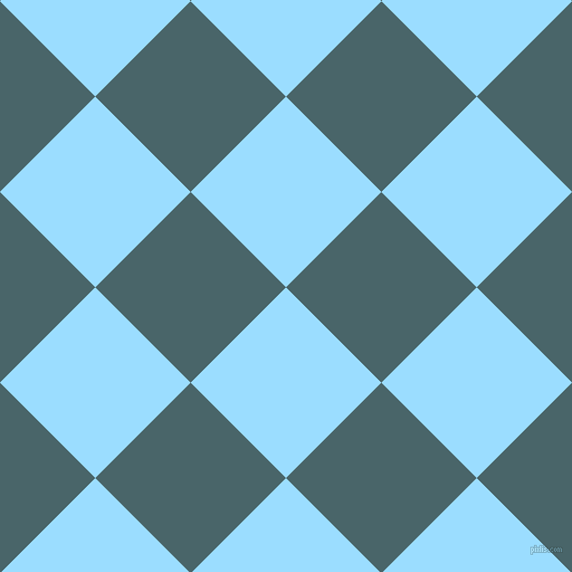 45/135 degree angle diagonal checkered chequered squares checker pattern checkers background, 149 pixel square size, , Columbia Blue and Tax Break checkers chequered checkered squares seamless tileable