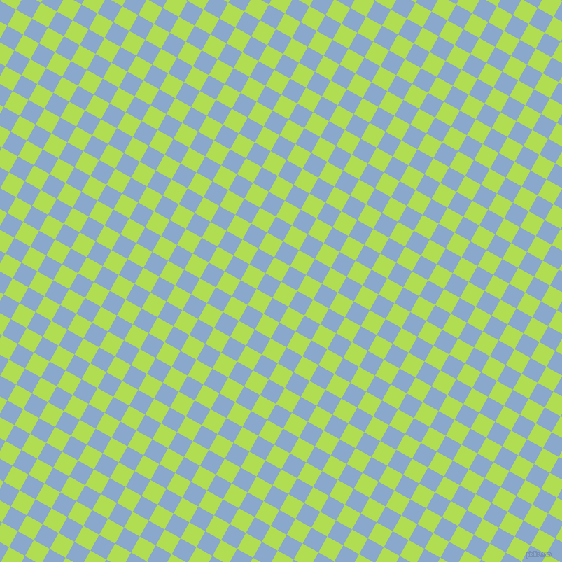 61/151 degree angle diagonal checkered chequered squares checker pattern checkers background, 26 pixel squares size, , Conifer and Polo Blue checkers chequered checkered squares seamless tileable