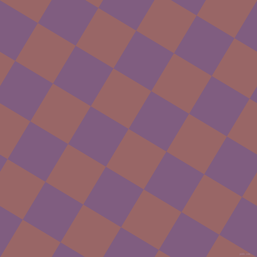 59/149 degree angle diagonal checkered chequered squares checker pattern checkers background, 146 pixel squares size, , Copper Rose and Trendy Pink checkers chequered checkered squares seamless tileable