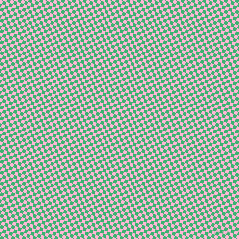 72/162 degree angle diagonal checkered chequered squares checker pattern checkers background, 7 pixel squares size, , Cotton Candy and Medium Sea Green checkers chequered checkered squares seamless tileable