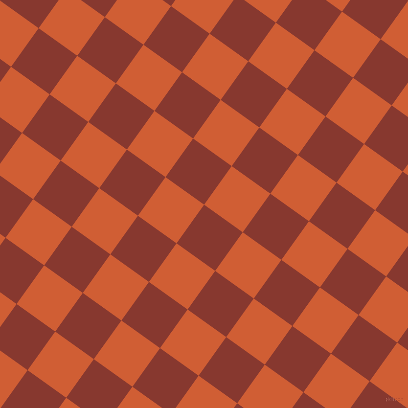54/144 degree angle diagonal checkered chequered squares checker pattern checkers background, 97 pixel square size, , Crab Apple and Chilean Fire checkers chequered checkered squares seamless tileable