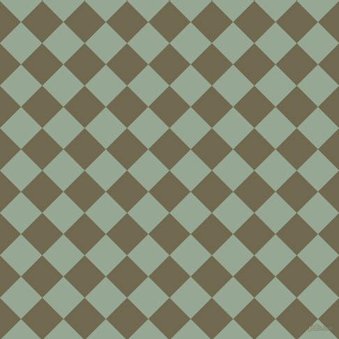 45/135 degree angle diagonal checkered chequered squares checker pattern checkers background, 43 pixel square size, , Crocodile and Mantle checkers chequered checkered squares seamless tileable