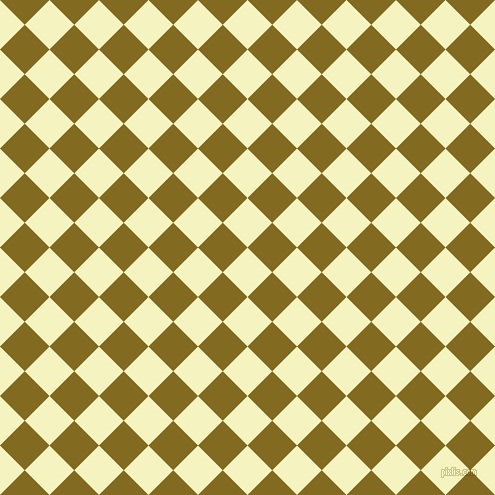 45/135 degree angle diagonal checkered chequered squares checker pattern checkers background, 35 pixel square size, , Cumulus and Yukon Gold checkers chequered checkered squares seamless tileable