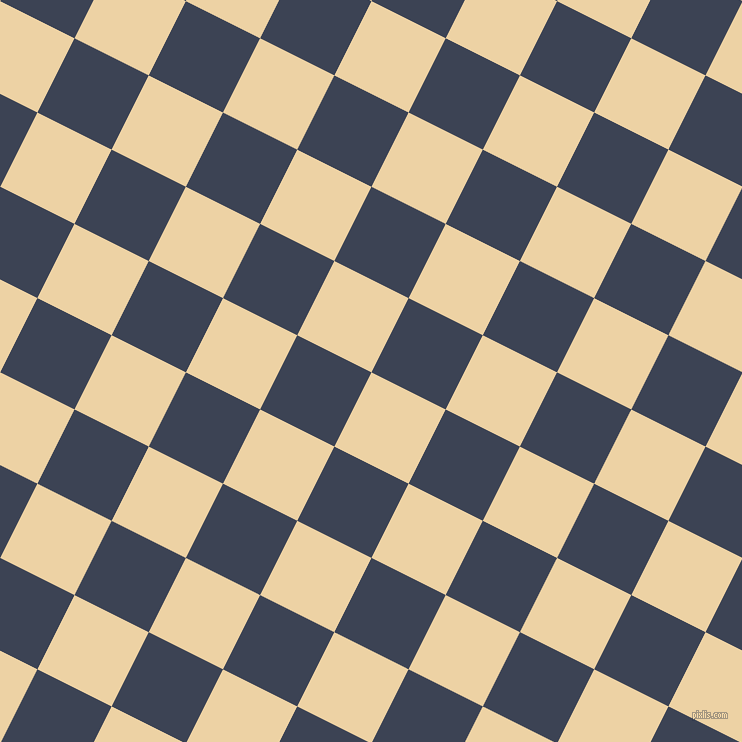 63/153 degree angle diagonal checkered chequered squares checker pattern checkers background, 83 pixel square size, , Dairy Cream and Blue Zodiac checkers chequered checkered squares seamless tileable