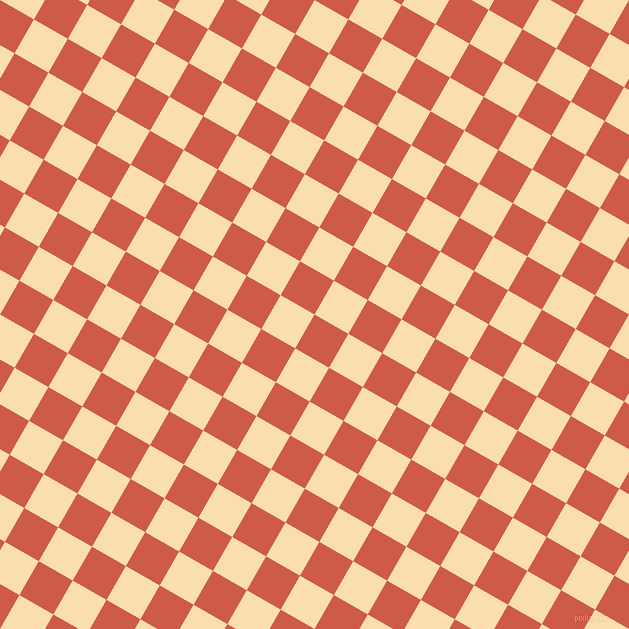 60/150 degree angle diagonal checkered chequered squares checker pattern checkers background, 39 pixel squares size, , Dark Coral and Peach-Yellow checkers chequered checkered squares seamless tileable