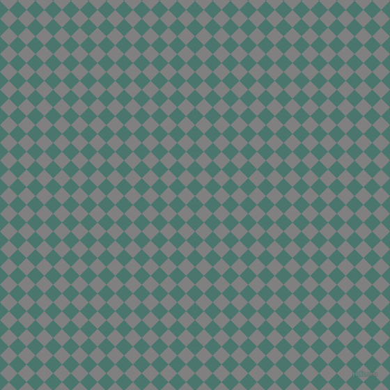 45/135 degree angle diagonal checkered chequered squares checker pattern checkers background, 18 pixel square size, , Dark Green Copper and Grey checkers chequered checkered squares seamless tileable