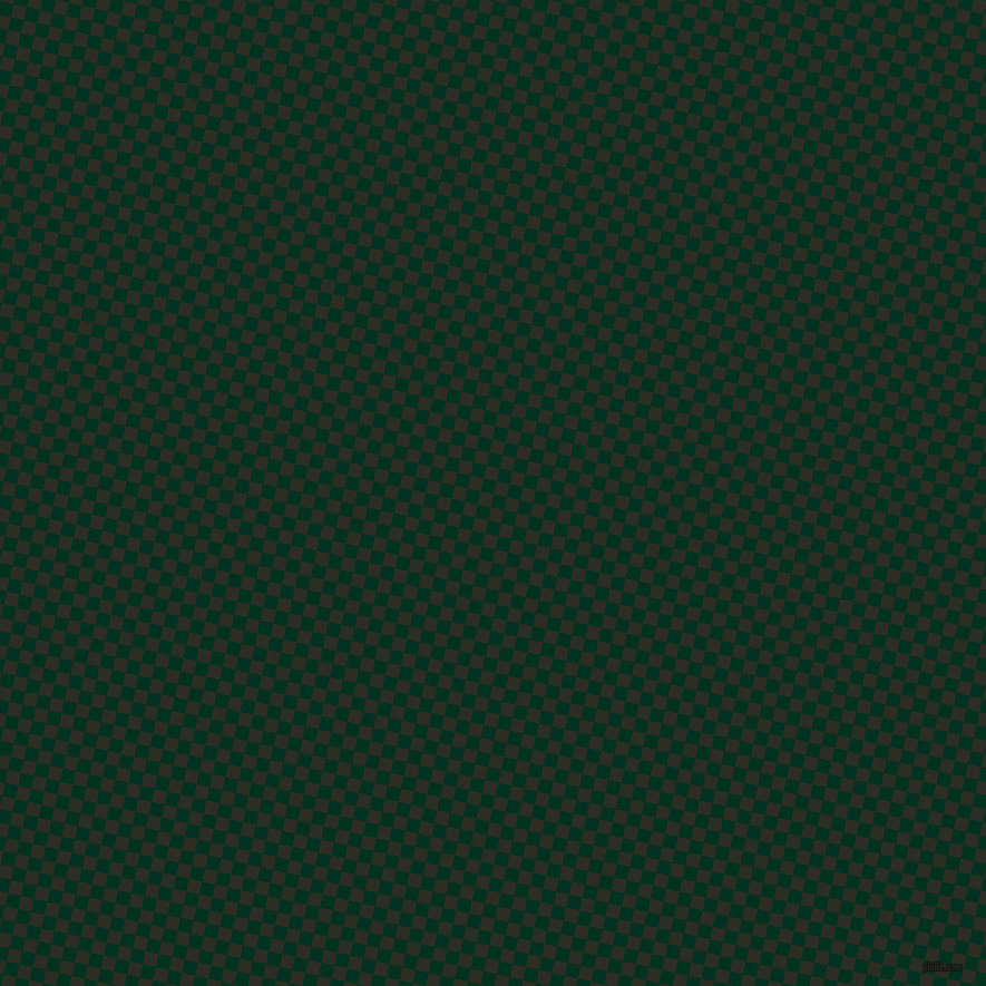 77/167 degree angle diagonal checkered chequered squares checker pattern checkers background, 12 pixel squares size, , Dark Green and Green Waterloo checkers chequered checkered squares seamless tileable