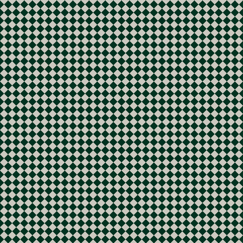 45/135 degree angle diagonal checkered chequered squares checker pattern checkers background, 19 pixel square size, , Dark Green and Quill Grey checkers chequered checkered squares seamless tileable