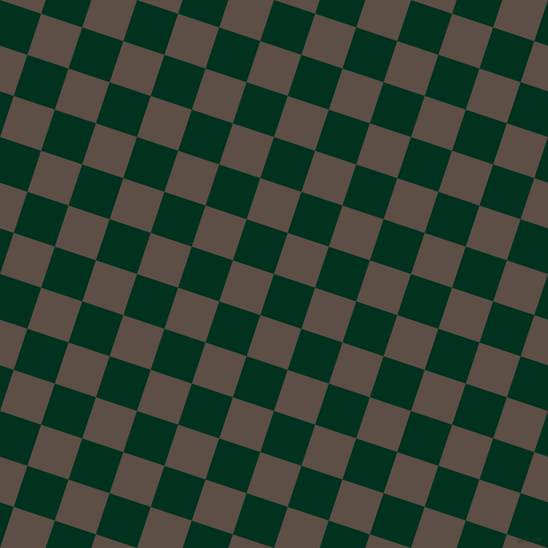 72/162 degree angle diagonal checkered chequered squares checker pattern checkers background, 63 pixel squares size, , Dark Green and Saddle checkers chequered checkered squares seamless tileable