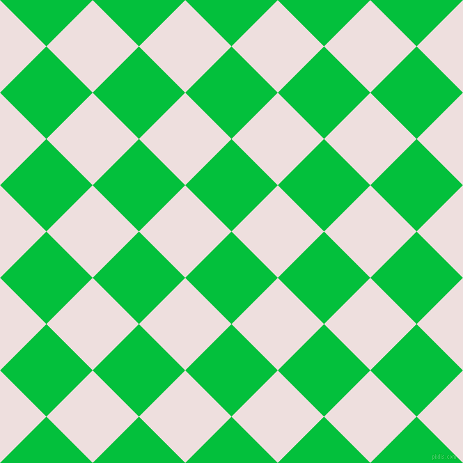 45/135 degree angle diagonal checkered chequered squares checker pattern checkers background, 94 pixel square size, , Dark Pastel Green and Soft Peach checkers chequered checkered squares seamless tileable