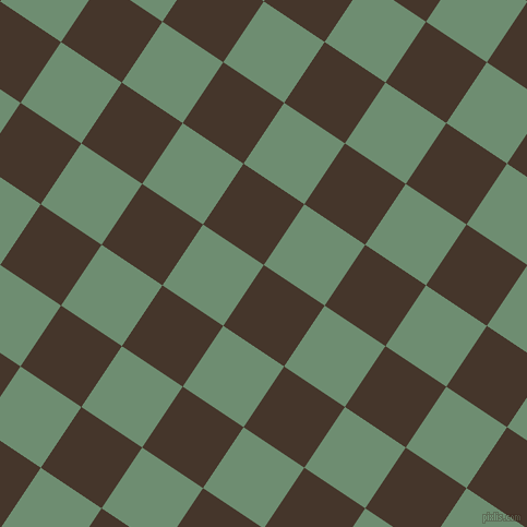 56/146 degree angle diagonal checkered chequered squares checker pattern checkers background, 67 pixel square size, , Dark Rum and Laurel checkers chequered checkered squares seamless tileable