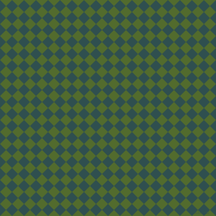 45/135 degree angle diagonal checkered chequered squares checker pattern checkers background, 17 pixel square size, , Dark Slate Grey and Green Leaf checkers chequered checkered squares seamless tileable