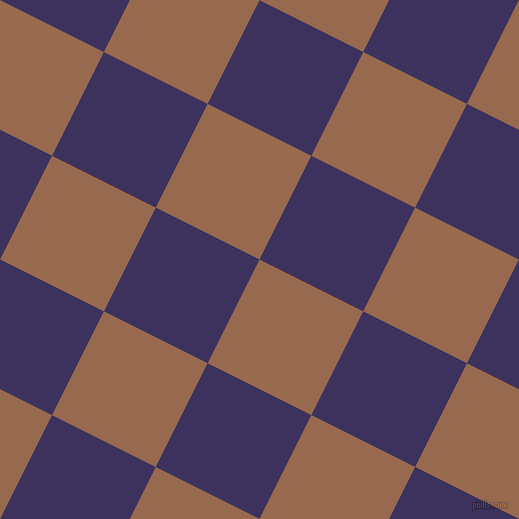 63/153 degree angle diagonal checkered chequered squares checker pattern checkers background, 116 pixel square size, , Dark Tan and Jacarta checkers chequered checkered squares seamless tileable
