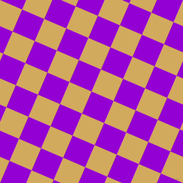 67/157 degree angle diagonal checkered chequered squares checker pattern checkers background, 100 pixel square size, , Dark Violet and Apache checkers chequered checkered squares seamless tileable
