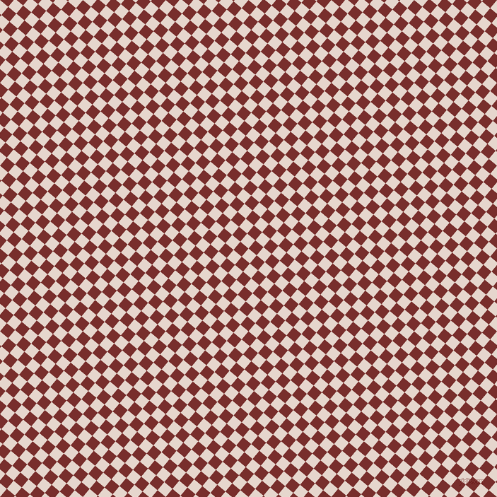 50/140 degree angle diagonal checkered chequered squares checker pattern checkers background, 15 pixel square size, , Dawn Pink and Lusty checkers chequered checkered squares seamless tileable