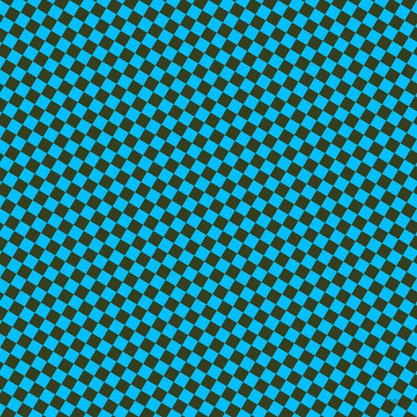 59/149 degree angle diagonal checkered chequered squares checker pattern checkers background, 17 pixel squares size, , Deep Sky Blue and Turtle Green checkers chequered checkered squares seamless tileable