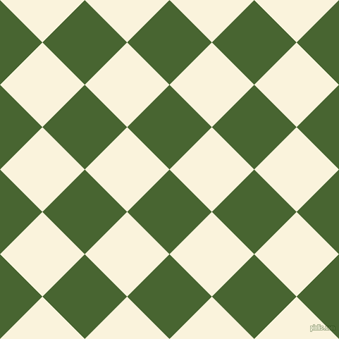45/135 degree angle diagonal checkered chequered squares checker pattern checkers background, 85 pixel squares size, , Dell and Off Yellow checkers chequered checkered squares seamless tileable