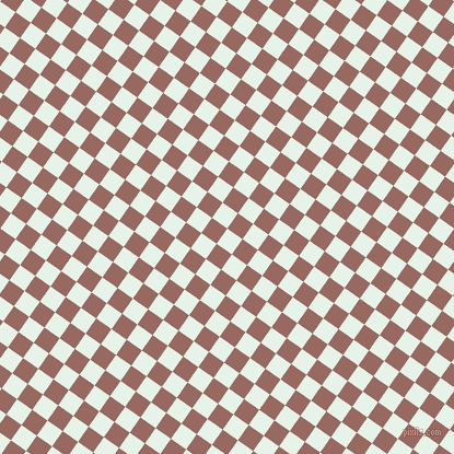 55/145 degree angle diagonal checkered chequered squares checker pattern checkers background, 17 pixel square size, , Dew and Dark Chestnut checkers chequered checkered squares seamless tileable