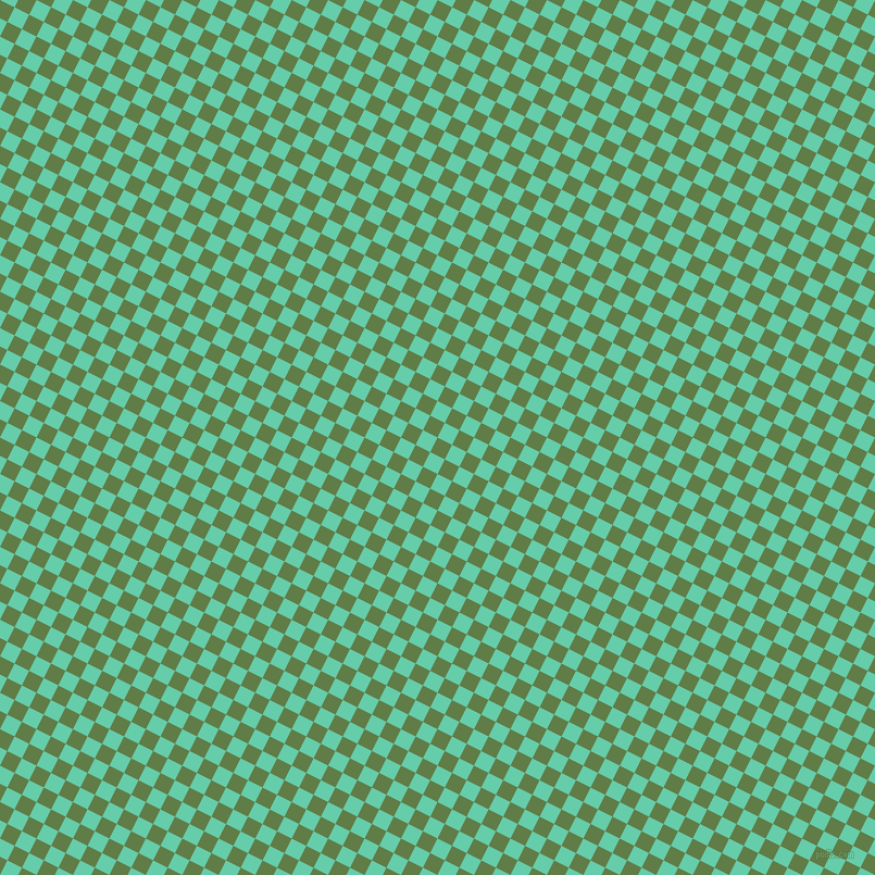 63/153 degree angle diagonal checkered chequered squares checker pattern checkers background, 15 pixel squares size, , Dingley and Medium Aquamarine checkers chequered checkered squares seamless tileable
