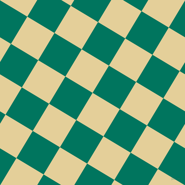 59/149 degree angle diagonal checkered chequered squares checker pattern checkers background, 130 pixel square size, , Double Colonial White and Tropical Rain Forest checkers chequered checkered squares seamless tileable