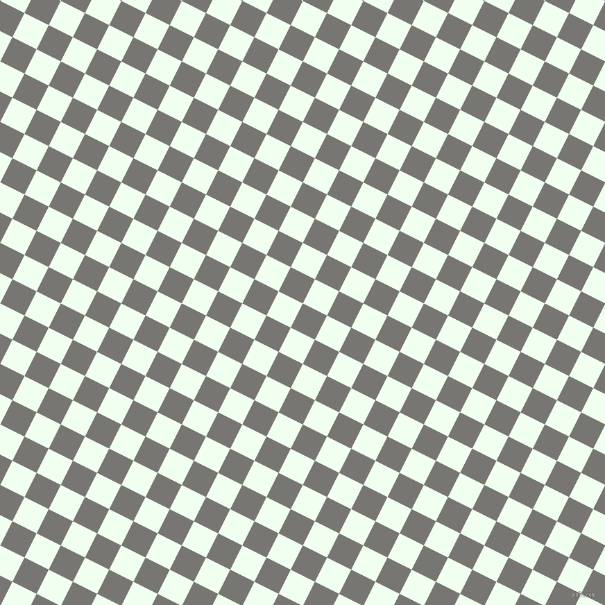63/153 degree angle diagonal checkered chequered squares checker pattern checkers background, 39 pixel squares size, , Dove Grey and Honeydew checkers chequered checkered squares seamless tileable