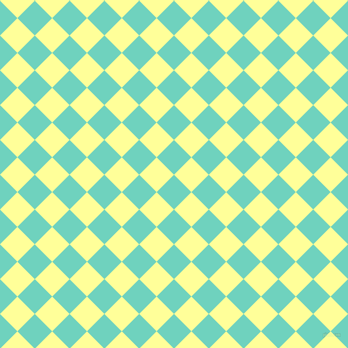 45/135 degree angle diagonal checkered chequered squares checker pattern checkers background, 50 pixel square size, , Downy and Canary checkers chequered checkered squares seamless tileable