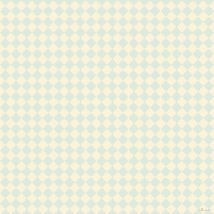 45/135 degree angle diagonal checkered chequered squares checker pattern checkers background, 25 pixel square size, , Early Dawn and Apple Green checkers chequered checkered squares seamless tileable