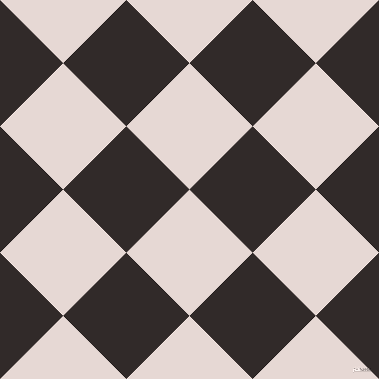 45/135 degree angle diagonal checkered chequered squares checker pattern checkers background, 177 pixel squares size, , Ebb and Livid Brown checkers chequered checkered squares seamless tileable