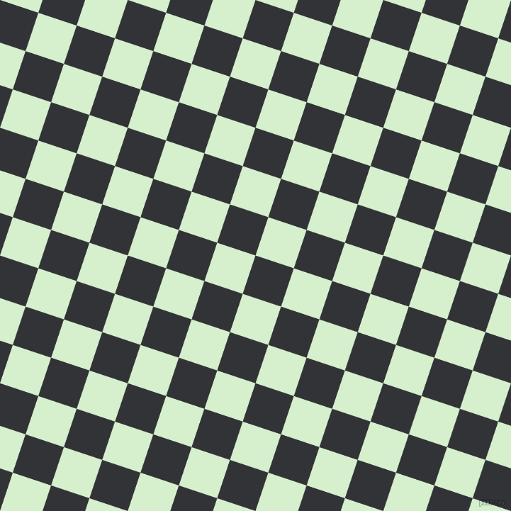 72/162 degree angle diagonal checkered chequered squares checker pattern checkers background, 57 pixel squares size, , Ebony and Snowy Mint checkers chequered checkered squares seamless tileable