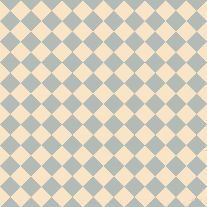 45/135 degree angle diagonal checkered chequered squares checker pattern checkers background, 50 pixel squares size, , Egg Sour and Loblolly checkers chequered checkered squares seamless tileable