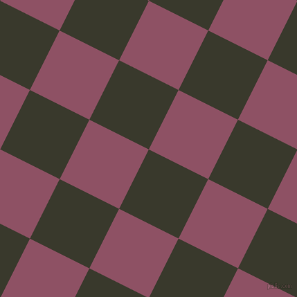 63/153 degree angle diagonal checkered chequered squares checker pattern checkers background, 96 pixel squares size, , El Paso and Cannon Pink checkers chequered checkered squares seamless tileable