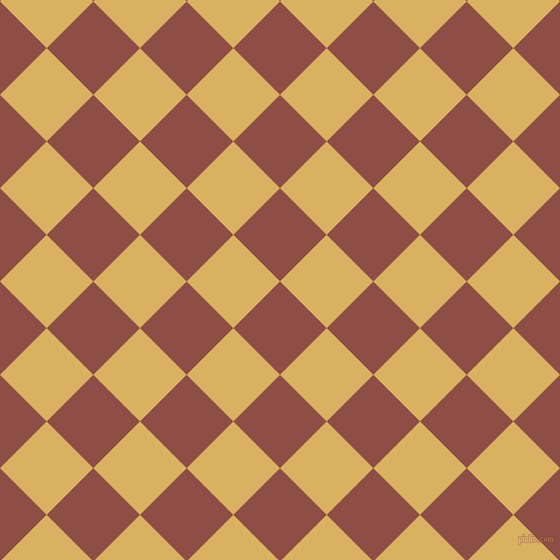 45/135 degree angle diagonal checkered chequered squares checker pattern checkers background, 66 pixel squares size, , El Salva and Equator checkers chequered checkered squares seamless tileable