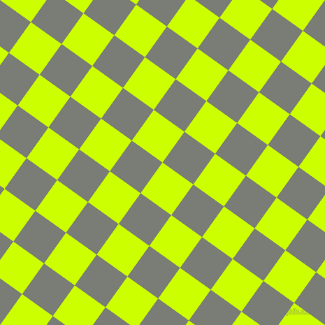 54/144 degree angle diagonal checkered chequered squares checker pattern checkers background, 54 pixel squares size, , Electric Lime and Gunsmoke checkers chequered checkered squares seamless tileable