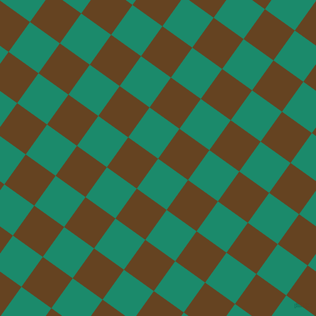 54/144 degree angle diagonal checkered chequered squares checker pattern checkers background, 75 pixel square size, , Elf Green and Dark Brown checkers chequered checkered squares seamless tileable