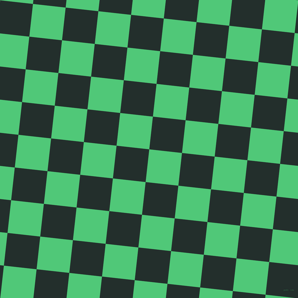 84/174 degree angle diagonal checkered chequered squares checker pattern checkers background, 111 pixel square size, , Emerald and Racing Green checkers chequered checkered squares seamless tileable