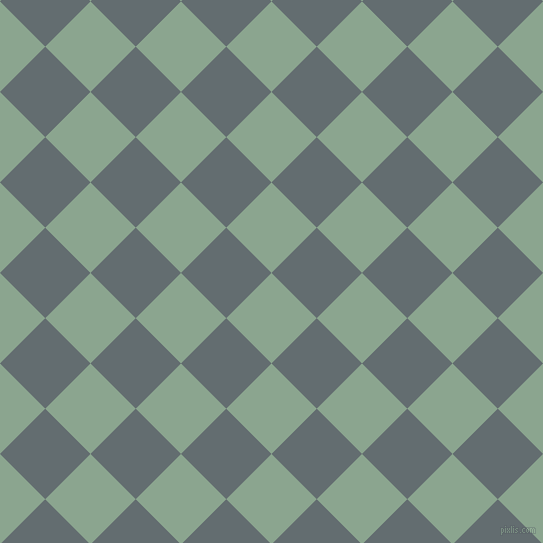 45/135 degree angle diagonal checkered chequered squares checker pattern checkers background, 64 pixel squares size, , Envy and Pale Sky checkers chequered checkered squares seamless tileable