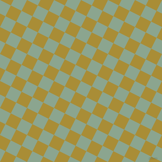 63/153 degree angle diagonal checkered chequered squares checker pattern checkers background, 50 pixel square size, , Envy and Reef Gold checkers chequered checkered squares seamless tileable