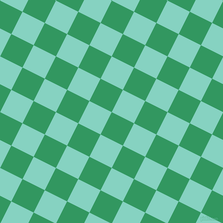 63/153 degree angle diagonal checkered chequered squares checker pattern checkers background, 50 pixel squares size, , Eucalyptus and Bermuda checkers chequered checkered squares seamless tileable