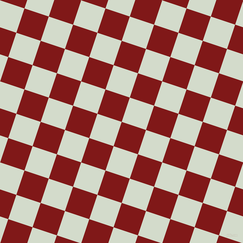 72/162 degree angle diagonal checkered chequered squares checker pattern checkers background, 83 pixel square size, , Falu Red and Ottoman checkers chequered checkered squares seamless tileable