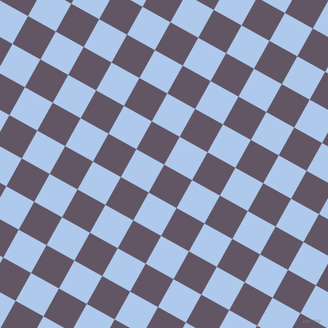 61/151 degree angle diagonal checkered chequered squares checker pattern checkers background, 65 pixel square size, , Fedora and Tropical Blue checkers chequered checkered squares seamless tileable