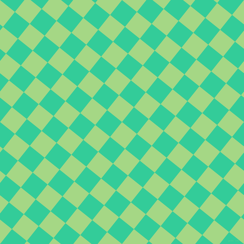 51/141 degree angle diagonal checkered chequered squares checker pattern checkers background, 63 pixel squares size, , Feijoa and Shamrock checkers chequered checkered squares seamless tileable