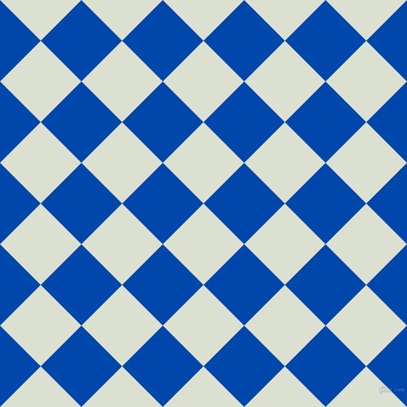 45/135 degree angle diagonal checkered chequered squares checker pattern checkers background, 82 pixel squares size, , Feta and Cobalt checkers chequered checkered squares seamless tileable