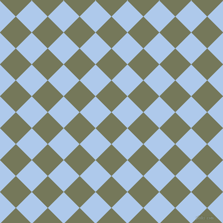 45/135 degree angle diagonal checkered chequered squares checker pattern checkers background, 45 pixel squares size, , Finch and Tropical Blue checkers chequered checkered squares seamless tileable