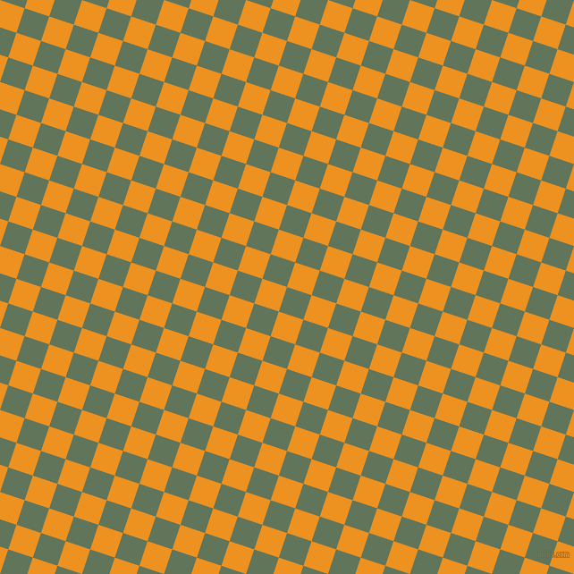 72/162 degree angle diagonal checkered chequered squares checker pattern checkers background, 29 pixel squares size, , Finlandia and Carrot Orange checkers chequered checkered squares seamless tileable