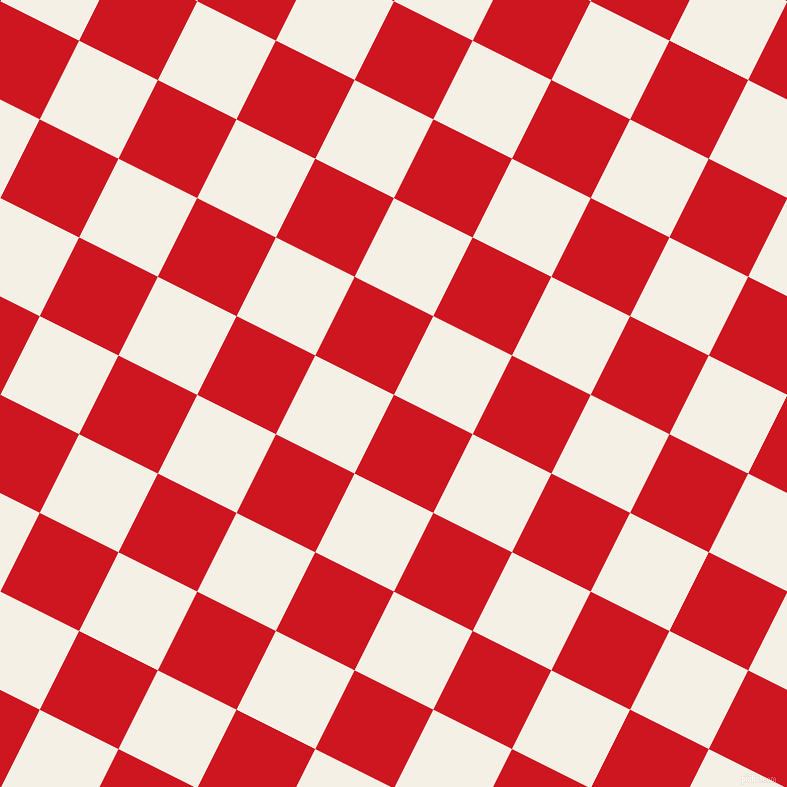 63/153 degree angle diagonal checkered chequered squares checker pattern checkers background, 88 pixel squares size, , Fire Engine Red and Romance checkers chequered checkered squares seamless tileable