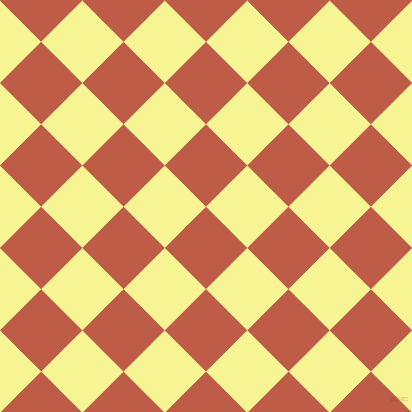 45/135 degree angle diagonal checkered chequered squares checker pattern checkers background, 118 pixel square size, Flame Pea and Milan checkers chequered checkered squares seamless tileable